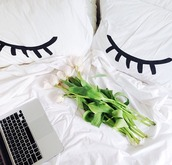 home accessory,cool,eyes,pillow,tumblr,instagram,super cute,boho,girly,retro,wow,flowers,white,black,laptop,girly wishlist,style,shelby hamilton