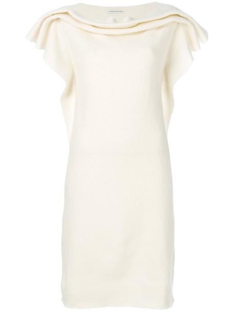 Stefano Mortari dress women white wool
