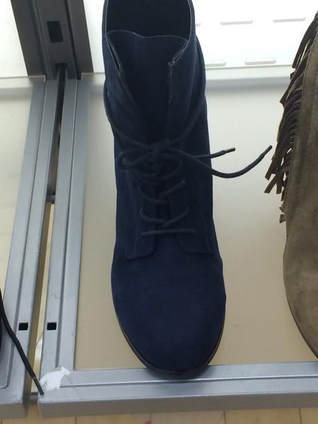 shoes heel navy suede booties suede suede shoes