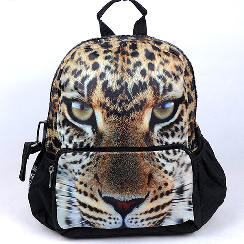 [grhmf2200017]3D Tiger Animal Backpack Cute Schoolbag on Luulla