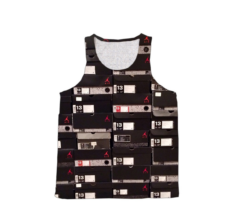 Jordan Box Tank Top Cut & Sew 2 Sided
