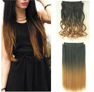 hair accessory hair ombre