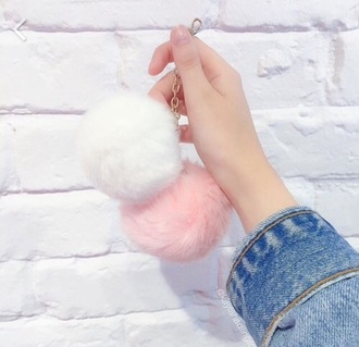jewels fur bag accessories bag accessories fur accessories bags and purses fur keychain keychain bag charm bag bug accessory