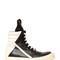 20mm leather high top sneakers