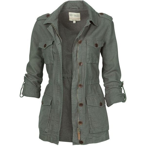 Fat Face Linen Military Jacket - Polyvore