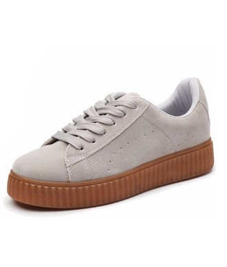 shoes creepers creeper platform shoes sneakers suede suede sneakers gumbottom