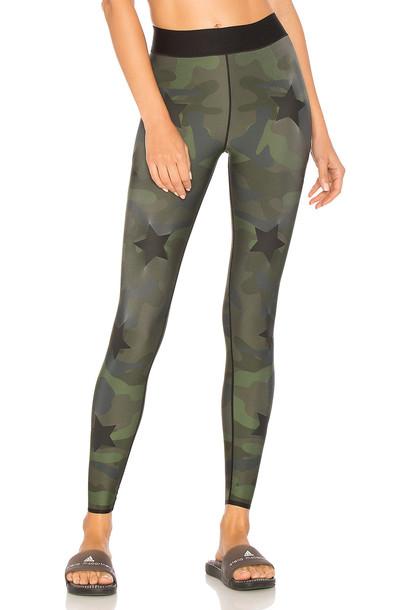 ULTRACOR silk green pants