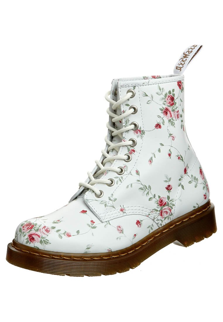 Dr. Martens 1460 8 EYE - Bottines à lacets - blanc - ZALANDO.FR