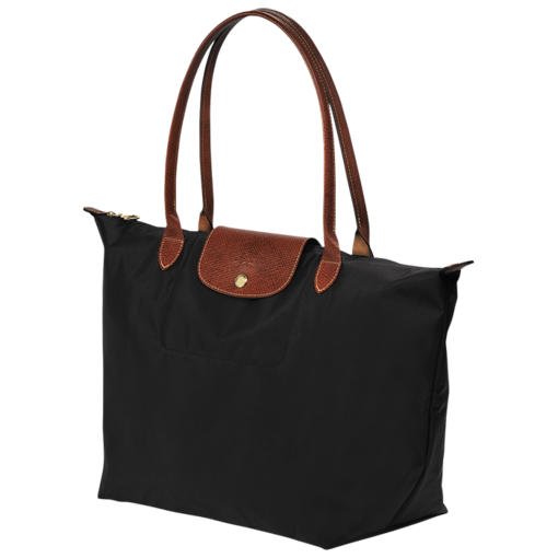 bag L - Le Pliage - Longchamp - Black - Longchamp United-States
