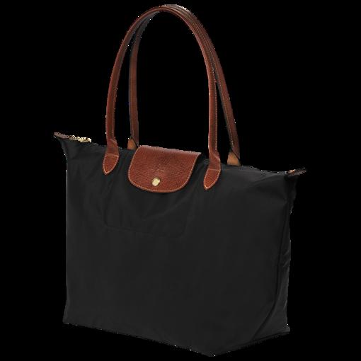 shopping bag l le pliage longchamp black longchamp