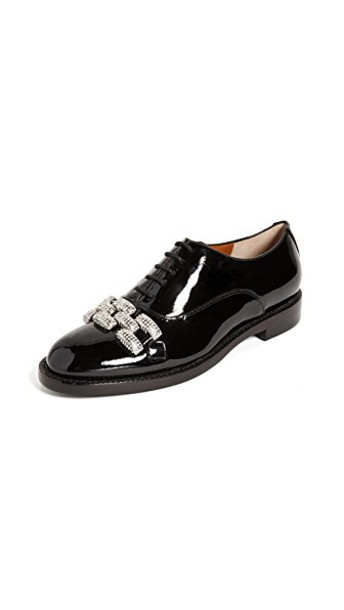 Marc Jacobs oxfords black shoes