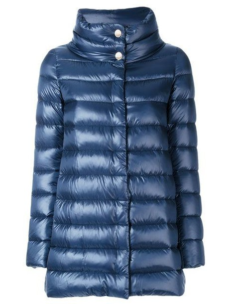 Herno jacket down jacket high blue
