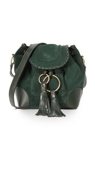 dark forest bag bucket bag
