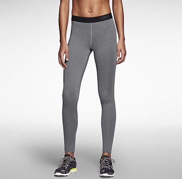 f1d2714b0262a Women's Nike Pro Warm 3.0 Training Tights Grey 620446-091 Size Small $50