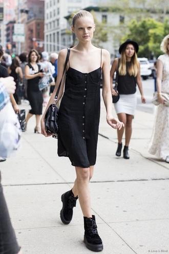 dress black dress little black dress mini dress casual goth hipster