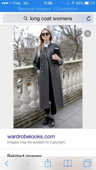 coat grey wool long boyfriend coat vintage winter outfits winter coat long coat grey coat