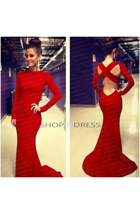 Mermaid/trumpet strapless floor length satin royal blue prom dress with ruffles npd098006 sale at shopindress.com
