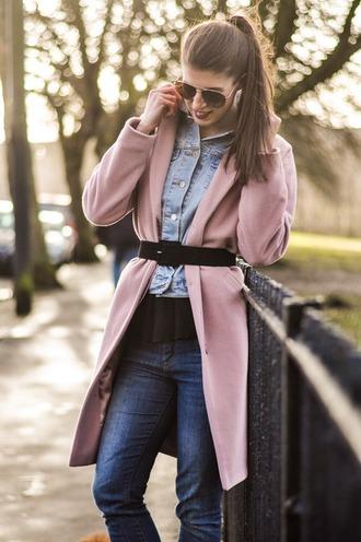 thank fifi coat jacket t-shirt shoes belt