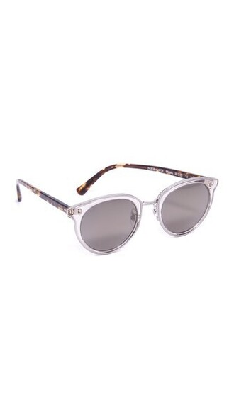 sunglasses silver grey