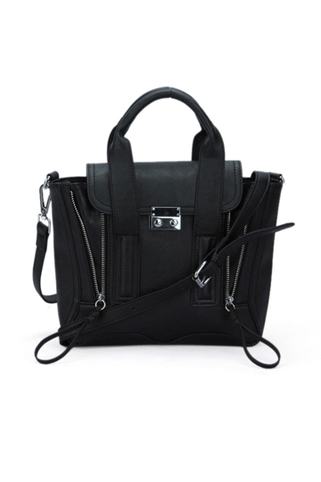 Mini Type Double Zipper Handbag [FPB472] - PersunMall.com