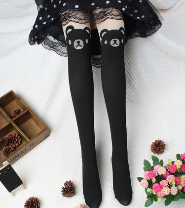 ac67bcd698e Bear Thigh High Tights from SYNDROME on Storenvy