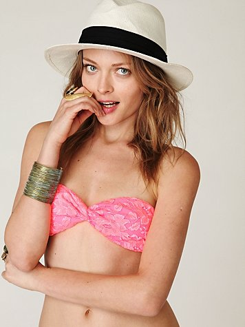 Lace Twist Bandeau at Free People Clothing Boutique