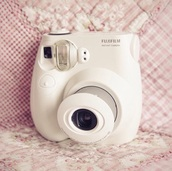 home accessory,white,white camera,fujifilm,fuji film,Fuji Mini Camera,camera,instagram,polaroid camera,weekend escape