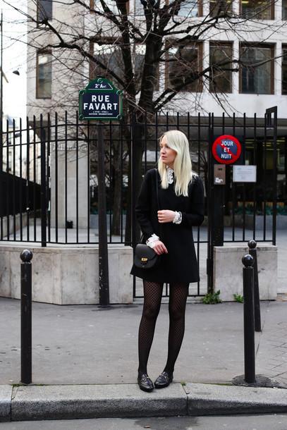 Dress Tumblr Black Dress Mini Dress Little Black Dress Long