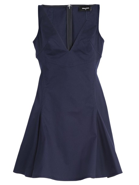 Dsquared2 dress blue