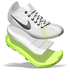 Nike Store UK. Nike Flyknit Lunar1 iD Running Shoe