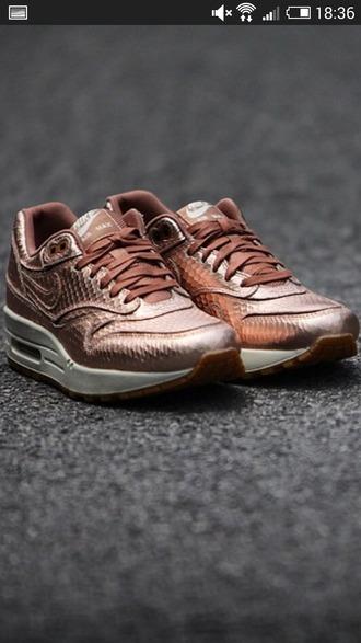 shoes air max 1 bronze nike