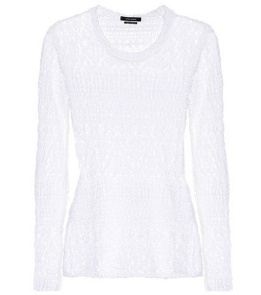 Isabel Marant Lace top in white
