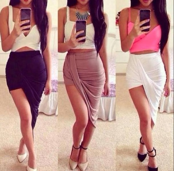 High Waist Long Pencil Skirt - Dress Ala