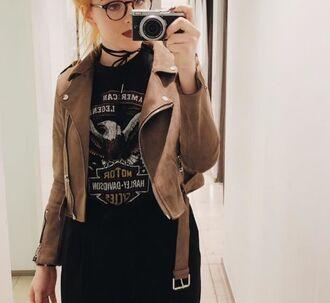 jacket brown trendy girl girly cute sexy hot brown jacket zip love pretty cool amazing style stylish fashionista fashion fabulous