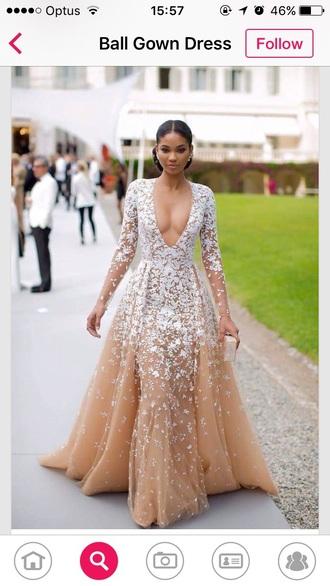 dress ball gown dress gown prom dress