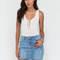 Snag this distressed denim miniskirt ltblue - gojane.com