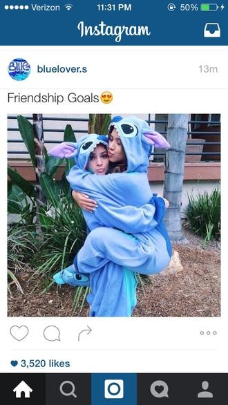 pajamas friends sweater