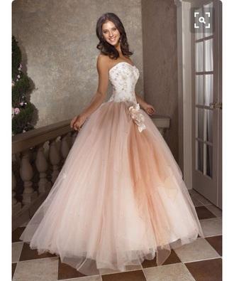 dress lace beautiful tan white sleeveless sleeveless dress wedding dress prom dress long prom dress long dress beautiful ball gowns ball gown dress
