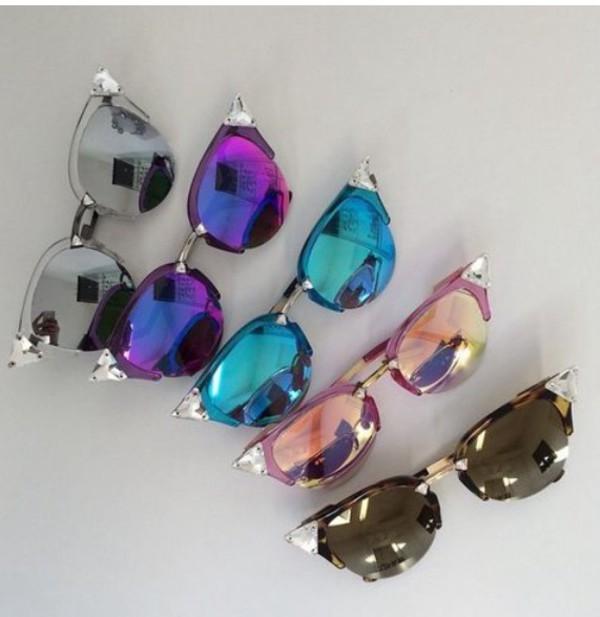 80779c2221c5 sunglasses mirrored sunglasses pink sunglasses colorful fashion style  forever 21 accessories summer accessories Accessory summer.