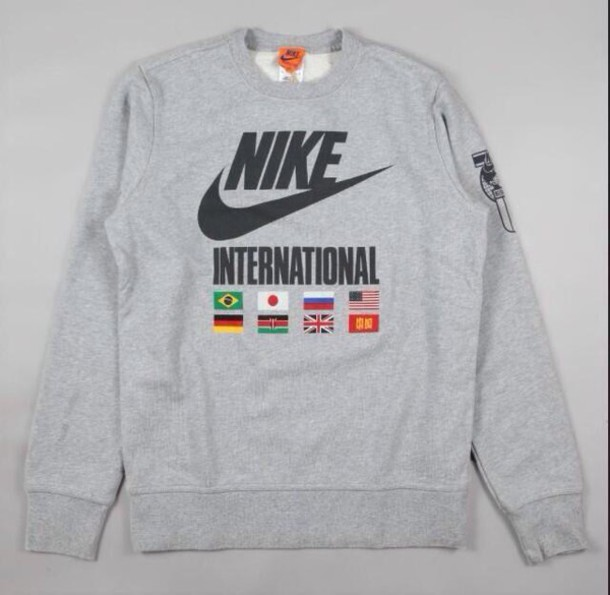 Sweater: nike clothing, crewneck hoodie, crewneck, sweatshirt ...
