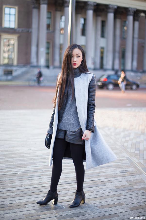 tlnique shoes jacket sweater