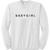 baby girl font sweatshirt