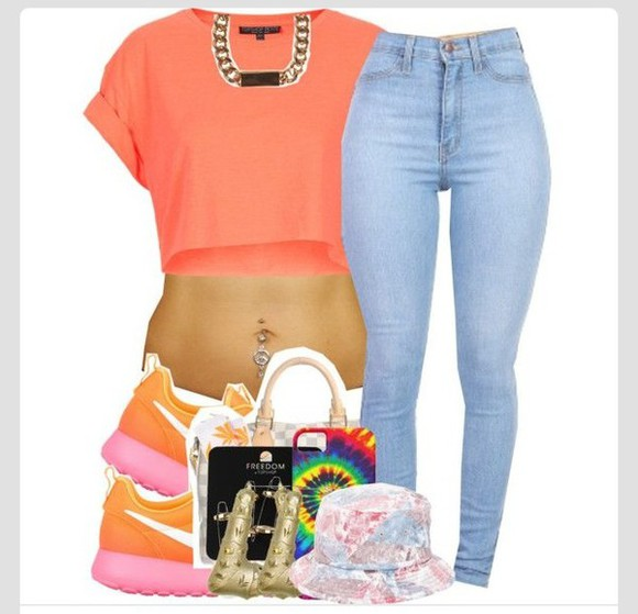 shoes orange roshe runs, sneakers, colorful pink nike,roshe runs, running shoes, black,floral, dope, yellow, girls