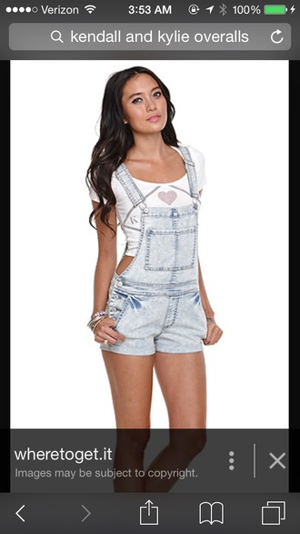 jeans overalls kendall and kylie collectionn