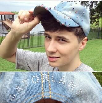 hat dan howell pastel cap