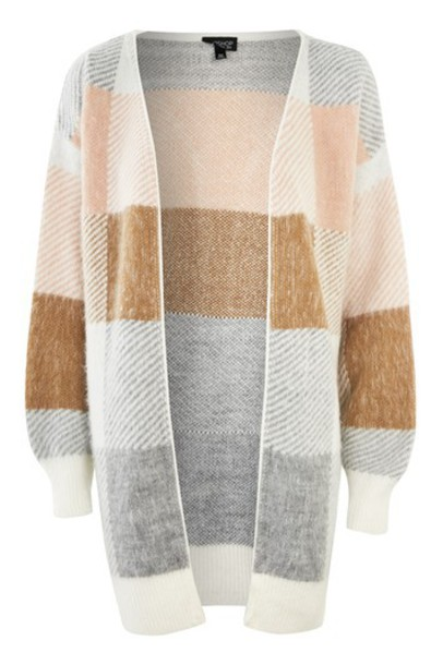 Topshop cardigan cardigan oversized neutral sweater