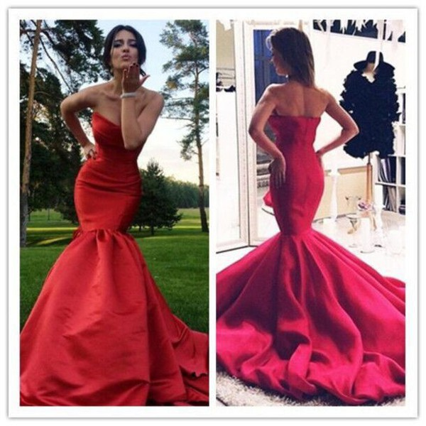dress, prom dress, prom, prom gown, prom beauty, red prom dress ...