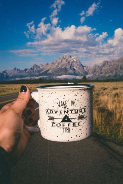 Home Accessory Cliffs Mug Travel Cup Coffee Tumblr Weheartit Instagram Quotes Love Adventure Time