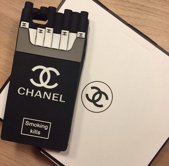 phone cover chanel cigarettes like