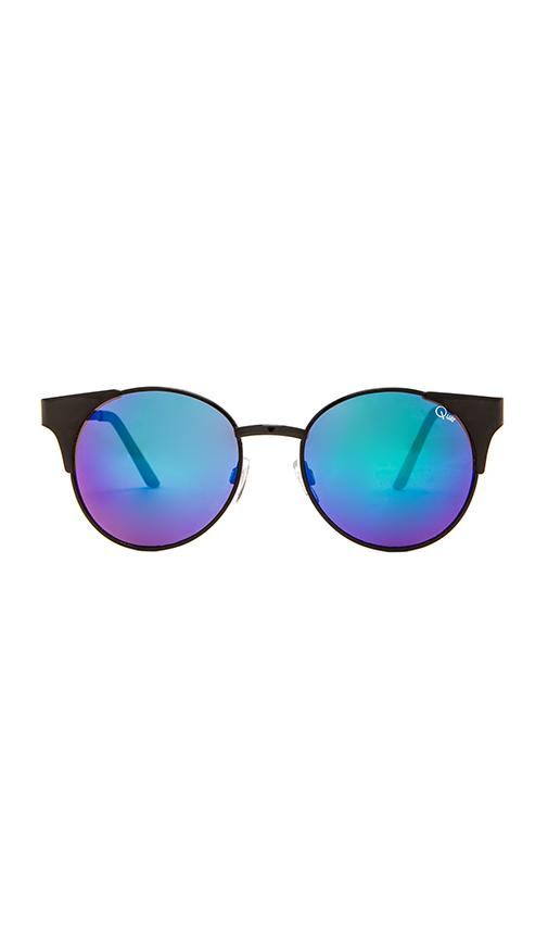 Quay asha sunglasses in black from revolveclothing.com